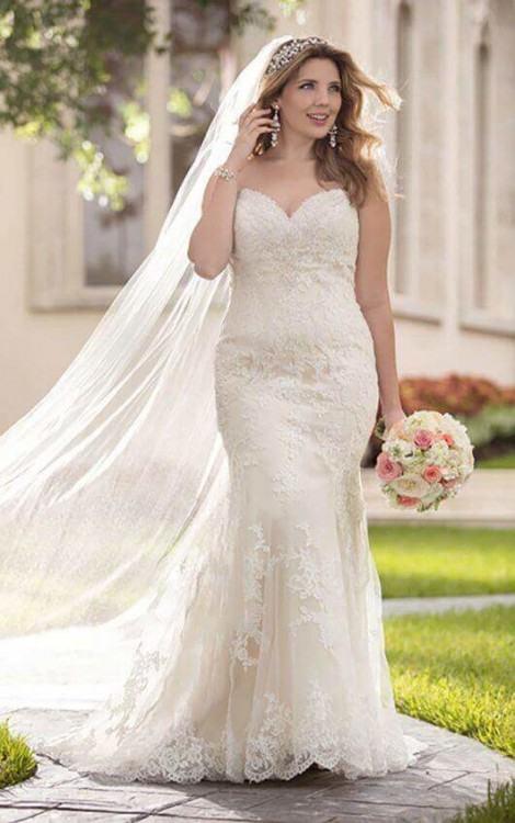 Plus Size Bride · Plus Size Wedding Dress · Plus Size Stella York