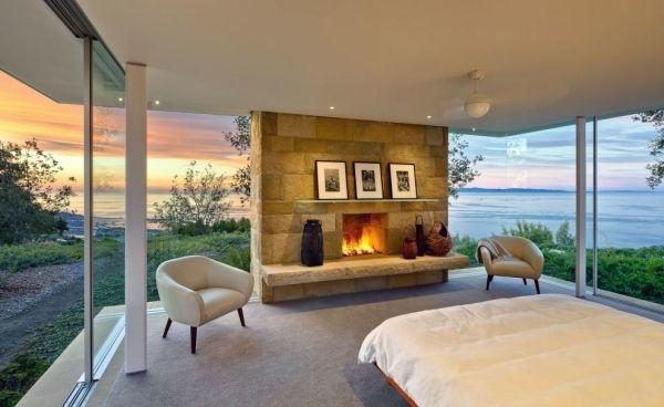 Bedroom Fireplace Design Ideas 12