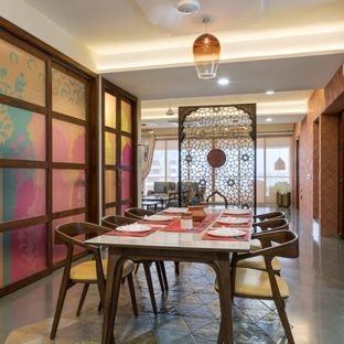 oriental dining room