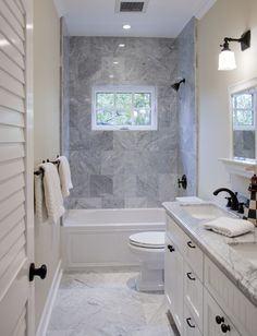 narrow bathroom ideas