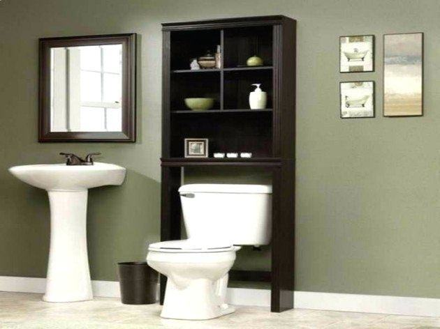 Finding storage broadcast in a little bathroom doesn't have to be a chore