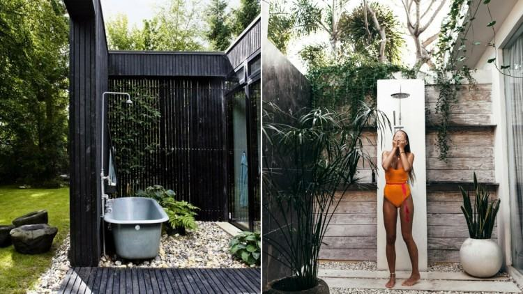 We offer custom outdoor  showers as well