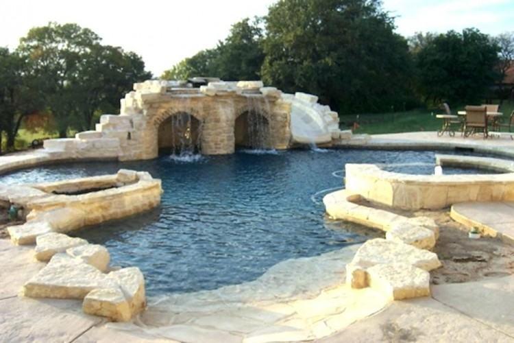 beach entry pool designs