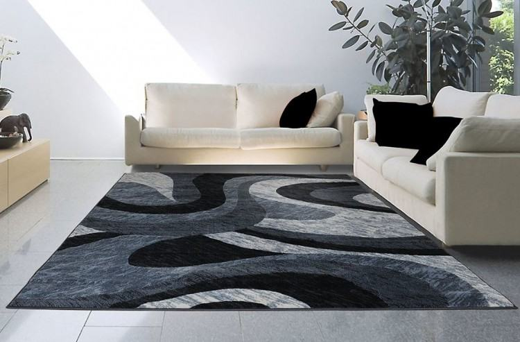 Put high fashion underfoot with a glam rug