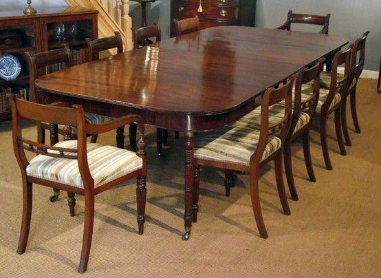 Mahogany Georgian Dining Table