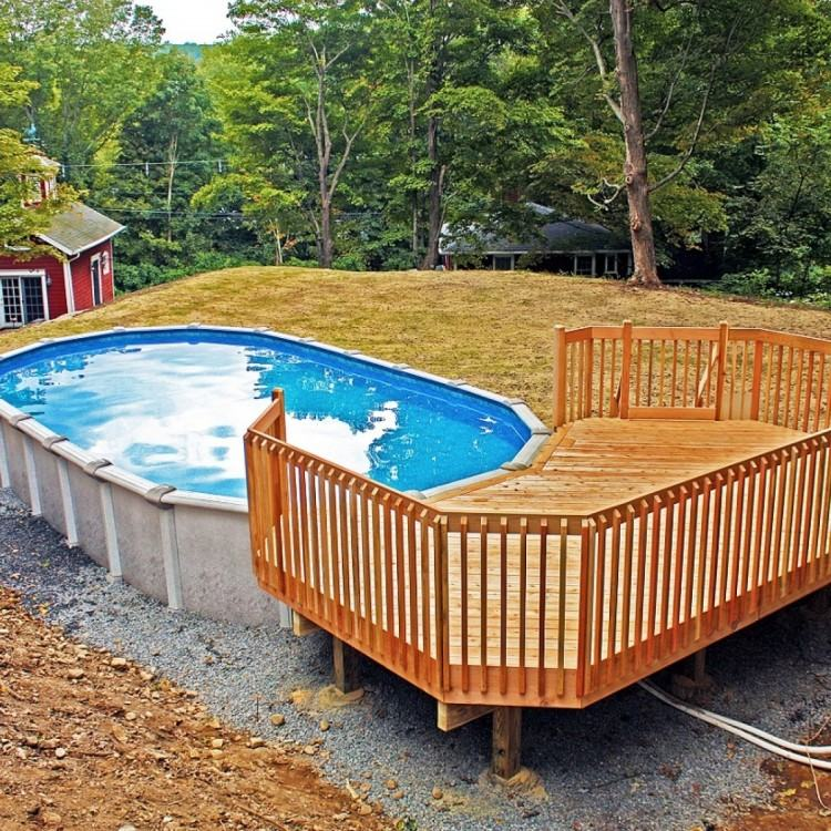 outdoor patio  pool ideas small