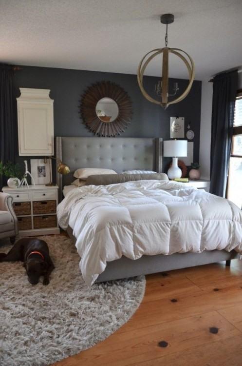 blue room rug