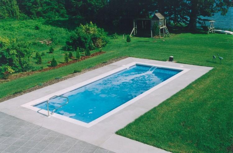 indoor lap  pool swimming