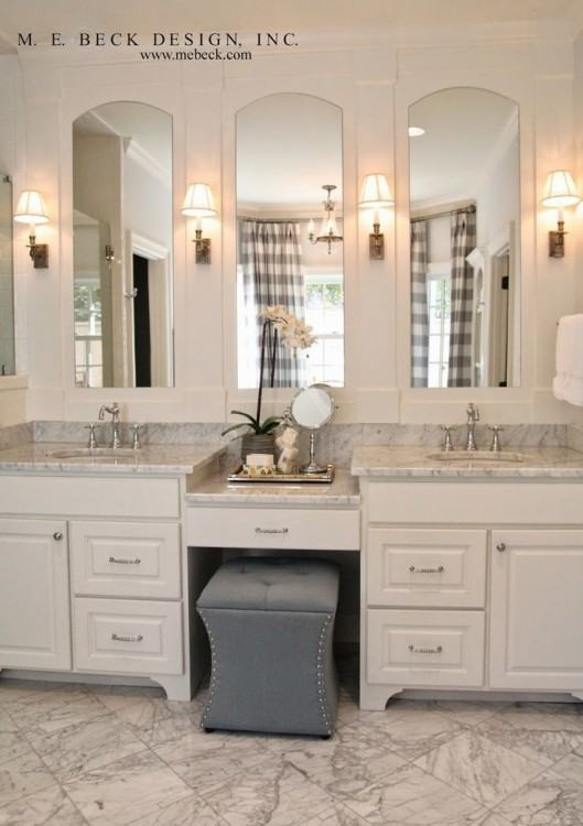 Modern Colonial Bathroom Design Interior American British