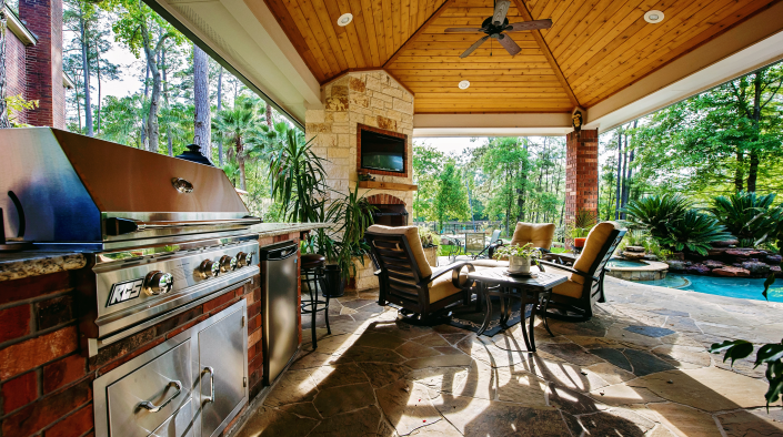 Nothing makes that as easy as an outdoor kitchen