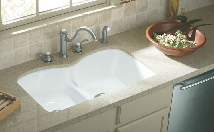 Collect this idea white island with sink