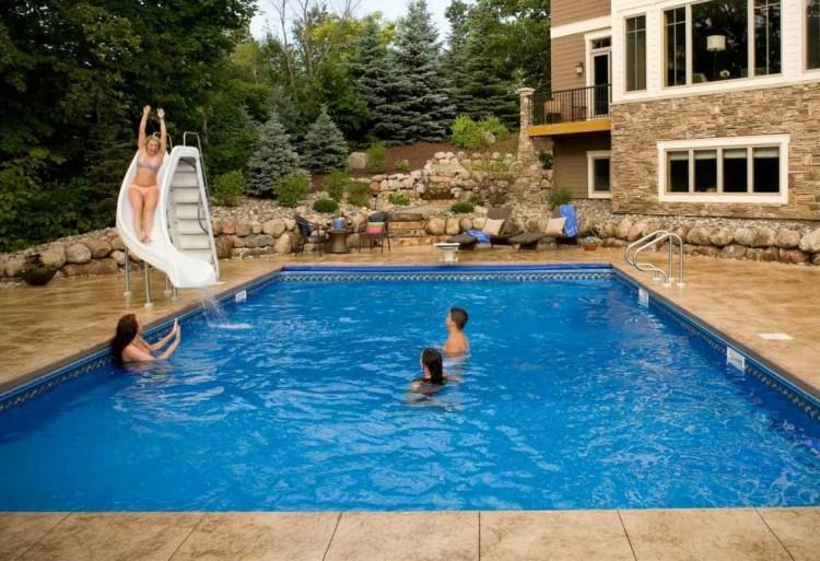 Medium Size of Small Home Swimming Pool Design Houses With Indoor Pools  Above Ground A Fiberglass