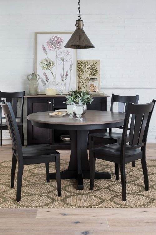 Utilize a small space for a charming and  functional dining space