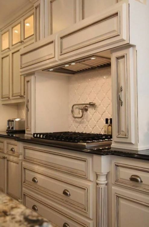Collection in White Kitchen Cabinets With Granite with 73 Most Common  Kitchen Design Ideas Off White