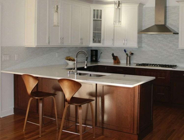 Pendant Lighting Over Kitchen Peninsula Design Photo Gallery