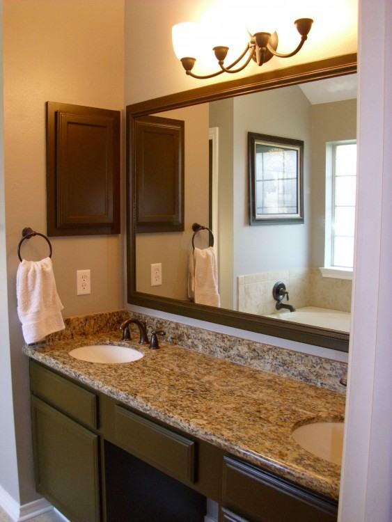 Bathroom Mirror Ideas Medium size Rustic Wood Bathroom Mirror Design  Ideas Ceramic Wooden